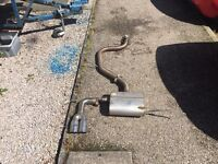 Vw scirocco Cobra cat back exhaust system