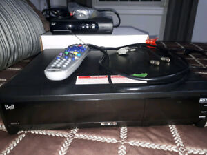 Bell HD PVR 9241 and 4100 receiver
