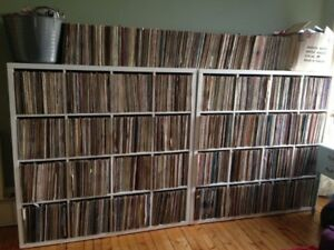 PRIVATE VINYL RECORD MUSIC COLLECTION FOR SALE