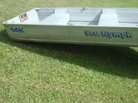 14ft Aluminum Fishing/hunting boat  Boat