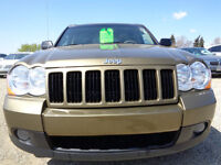 2008 Jeep Grand Cherokee LAREDO-4X4-H/LEATHER-SUNROOF---DIESEL
