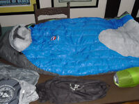 NEW & USED Bike TOURING gear lot BIG AGNES north face rack bag