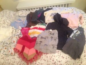 Lot of Baby Girl Clothes Size 18-24 months