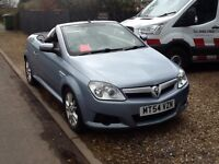 Vauxhall Tigra Twinport 2004 1400 convertible coupe full mot