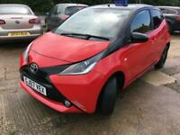 2017 Toyota Aygo 1.0 VVT-I X-Cite 4 Manual Red 1 Year MOT Just Been Serviced