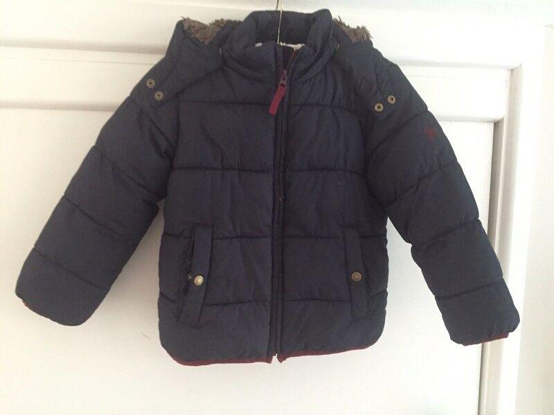Boys mini boden winter coat 4-5 years VGC