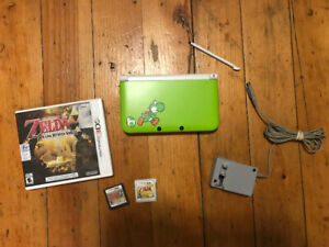 Selling Yoshi Special Edition 3DS XL with 3 Zelda Games