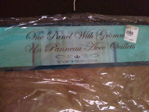 Brand new with tags brown window covering curtain London Ontario image 3