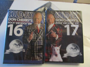 Cold-FX Don Cherry's Rock'em Sock'em hockey 16 and 17 dvd