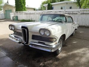 1958 Edsel 2dr Hardtop - 302 In Running Condition