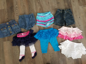 3-6 Month Skirts and Shorts