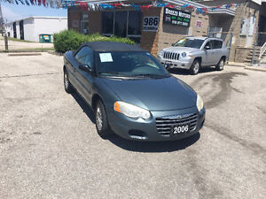 2006 Chrysler Sebring Convertible Coupe (2 door)