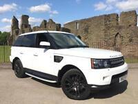 2012 Land Rover Range Rover Sport White 3.0SDV6 4X4 Auto HSE FSH NAV SIDE STEPS