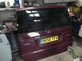 Mercedes vito tailgate with glass