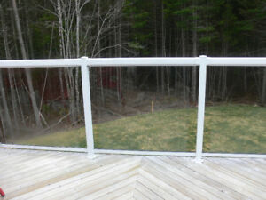 TEMPERED GLASS PANELS for decking