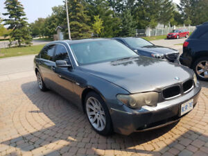 BMW 2005 745 LI FOR SALE AMAZING CONDITION AS IS ONLY