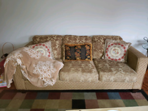 Sofa and love seat (Must go by end of April)