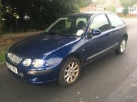 ROVER 25 1.4 PETROL LONG MOT STARTS AND DRIVES VERY WELL 2002