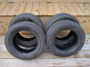 Set of 4 Michelin HydroEdge 185/70/14  summer tires