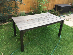 Composite Wood patio table
