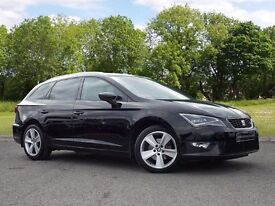 SEAT Leon 2.0 TDI FR (Tech Pack) ST 5dr (start/stop) (black) 2015