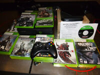 XBox 360 Bundle, 11 Games, with Hauppage HD PVR2