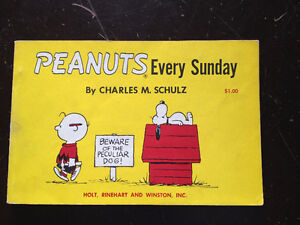 PEANUTS, EVERY SUNDAY BY CHARLES M. SCHULZ 1961