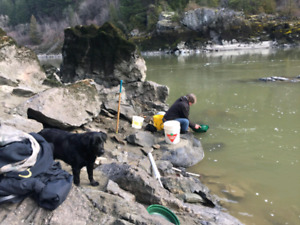 Placer gold claim on Fraser river near hope make offer