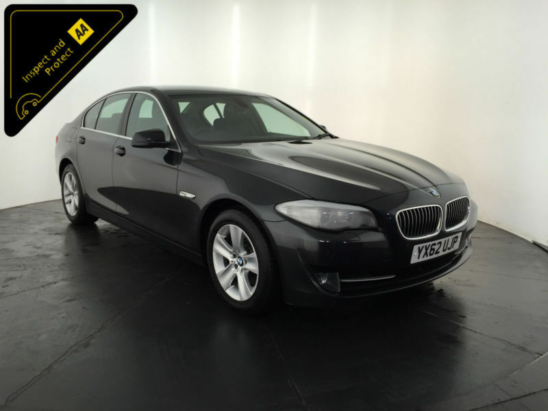 2012 62 BMW 520D EFFICIENT DYNAMICS 184 BHP 1 OWNER BMW SERVICE HISTORY FINANCE