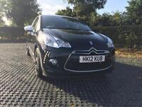 2012 Citroen DS3 1.6e-HDi Manual Diesel Hatchback in Black