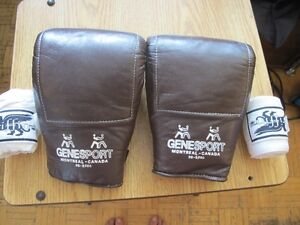 GeneSport Mix-Martial Arts/Boxing Gloves with Hand-Wraps