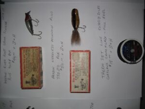 35. Fishing - Antique Fishing Lures for sale Lot 15: