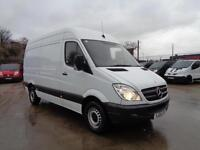 MERCEDES-BENZ SPRINTER 2.1 TD | 313 CDi | MWB - HIGH ROOF | 1 OWNER | 2013 MODEL