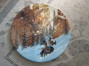 Collector Plate – Canyon of the Cat by Julie Cramer Cole