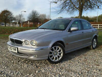 2002 Jaguar X-TYPE 2.5 V6 Automatic Saloon Petrol in Silver
