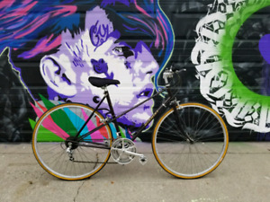Vintage Nishiki Olympic mixte 12 speed bike