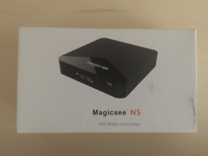 Magicsee N5 Android Tv Box with Worldwide Live Tv For Sale