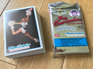 1992 Miami Dolphins Cheerleaders trading cards
