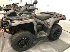 !!!!!   2015 CAM AM 650 OUTLANDER XT WITH PLOW   !!!!!