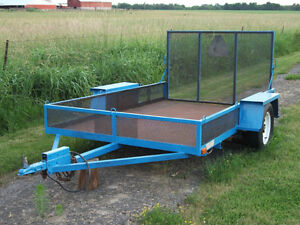 Made By Ford-All Steel Construction 6ft x 10ft Utility Trailer