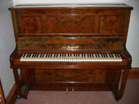 Upright Piano including Stool German Made