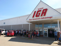 Part time/full time deli help required at Tofield IGA