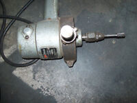 """High speed grinder and heavy duty 1/2"""" drills"""