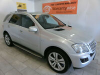 2010 Mercedes-Benz ML350 3.0CDI Blue F Sport ***BUY FOR ONLY £72 PER WEEK***