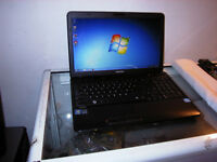 Used Toshiba c650 Core i3 Laptop with Webcam and Wireless