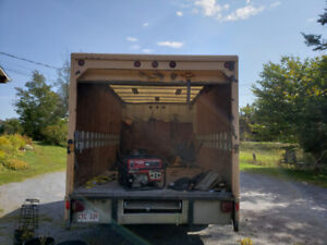 One ton moving van for sale