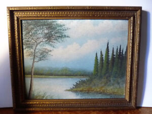 Summer Mists Showers by Tom Carter 1930's Listed Artist
