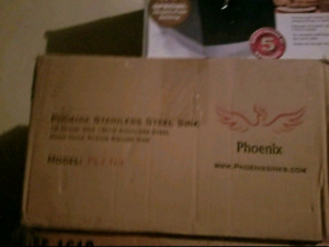 "Phoniex 12"" Bar Sink Phoenix PLZ-03 Undermount 18 Gaug"