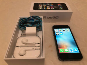 Unlocked Black Iphone 5s like new condition!