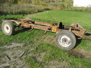 1949 Ford 1/2 Ton truck chassis and drive train parts